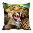 meSleep Jaguar Digitally Printed 16x16 inch Cushion Cover cd-29-41