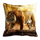meSleep Tiger Digitally Printed 16x16 inch Cushion Cover cd-29-43