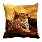 meSleep Jaguar Digitally Printed 16x16 inch Cushion Cover cd-29-44
