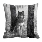 meSleep Wolf Digitally Printed 16x16 inch Cushion Cover cd-29-45