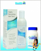 HealthVit Hair Fall and Hair Growth kit HV-COMBO-03