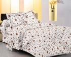 meSleep 100 Percent Cotton Yellow Double Bed sheet set 913-B