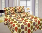 Bombay Dyeing Misty Double Bed Sheet Set  Misty-04