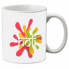 Mesleep Multi Colour Mug Holi-m-07