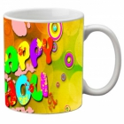 Mesleep Multi Colour Mug Holi-m-09