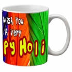 Mesleep Multi Colour Mug Holi-m-10