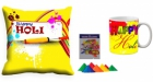 Holi Cushion Cover Mug-Combo hl12-m11