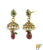 AAKSHI Fairy Merry Pearl Jhumka Dangle Earings AKS_ER_FMPJ
