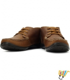 Woodland Boots Padded Footbed-Camel