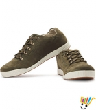 Woodland Sneakers Padded Footbed-Olive Green