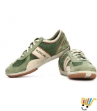 Woodland Sneakers Cushioned Ankle - Sea Green