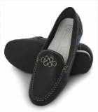 La Briza Black Casual Shoes 1664
