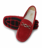 La Briza Red Casual Shoes 1697