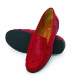 La Briza Red Casual Shoes 1710