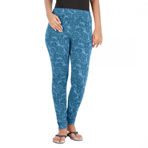 Hbhwear Womens Burn Out Legging HWBOL-1000-BLU