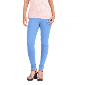Hbhwear WomensPlain Legging HWL991-BLU