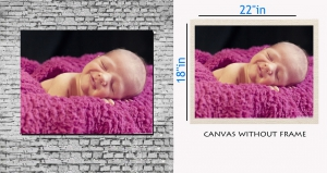 meSleep Canvas painting without frame - Sleeping baby pc-11-010