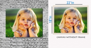 meSleep Canvas painting without frame - Cute Baby  pc-11-015