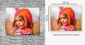 meSleep Canvas painting without frame - Baby pc-11-017