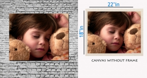 meSleep Canvas painting without frame - Children pc-11-018
