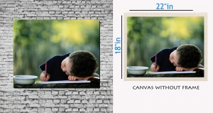 meSleep Canvas painting without frame - Innocent girl pc-11-020