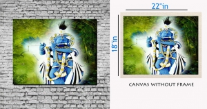 meSleep Canvas painting without frame - Saint pc-11-023