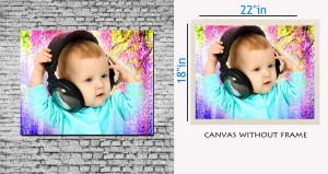 meSleep Canvas painting without frame - Cool Boy pc-11-025