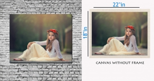 meSleep Canvas painting without frame - innocent girl pc-11-026