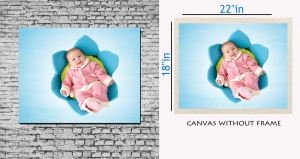 meSleep Canvas painting without frame - Cute Baby  pc-11-027