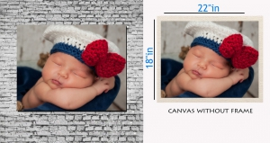 meSleep Canvas painting without frame - Sleeping baby Art pc-11-032