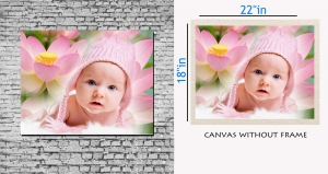 meSleep Canvas painting without frame - Naughty Baby pc-11-034