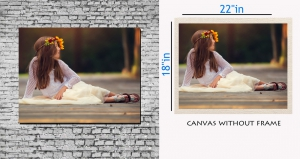 meSleep Canvas painting without frame - innocent girl pc-11-035