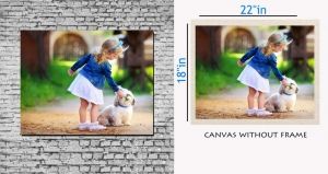 meSleep Canvas painting without frame - Cute Baby  pc-11-048