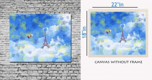 meSleep Canvas painting without frame - Nature Tower Art pc-11-069