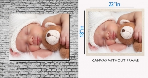 meSleep Canvas painting without frame - Baby Sleeping Art pc-11-072