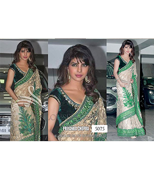 Bollywood Replica Saree of Priyanka Chopra Chopra 5075