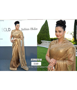 Bollywood Replica Saree of Aishwarya Rai 5110