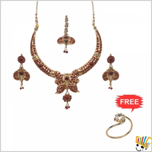 Jawaharaat Designer Party-Wear Set For Women 20141221_Nacklace_1