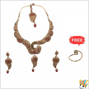 Jawaharaat Designer Party-Wear Set For Women 20141221_Nacklace_2