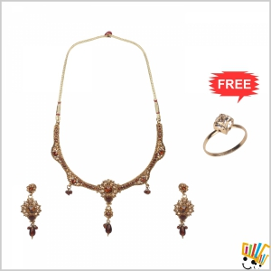 Jawaharaat Designer Party-Wear Set For Women 20141221_Nacklace_3