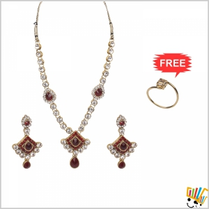 Jawaharaat Designer Party-Wear Set For Women 20141221_Nacklace_6
