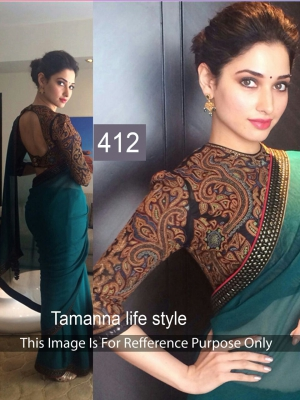 Bollywood Replica Saree Of Tamanna 412