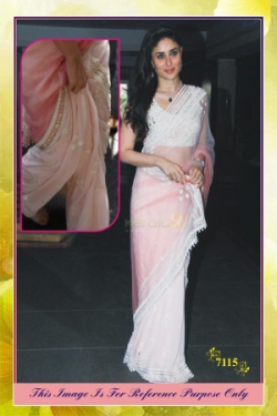 Bollywood Replica Saree Of Kareena 7115