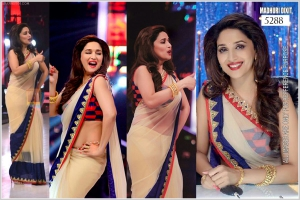 Bollywood Replica Saree Of Madhuri Dixit SA-5288