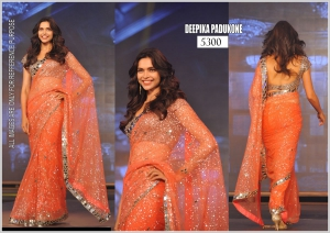 Bollywood Replica Saree Of Deepika Padukon SA-5300