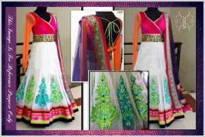 Bollywood Dress SA-7055