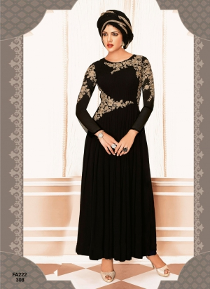 4a70e464f2 Buy New Designer and Party wear Black Salwar Suit FA222 308 | Cheer Shopping