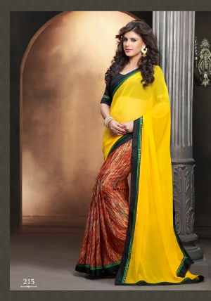 Vaikunth Fabrics stylish Designer Saree KR-215