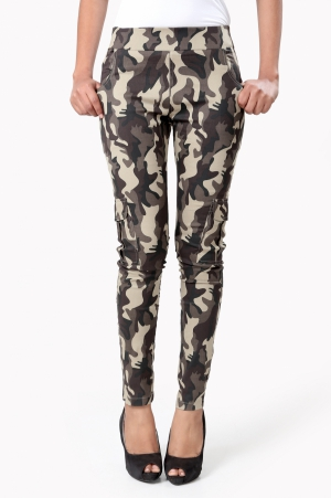 Eavan Military Printed Jeggings EA974