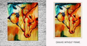 Mesleep Canvas painting without frame-Horse pc-13-24
